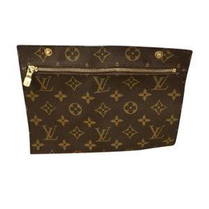 Authentic Louis Vuitton cosmetic case monogram